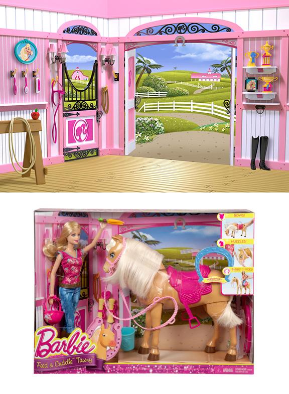 Barbie Feed & Cuddle