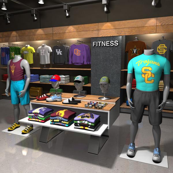Store visualization